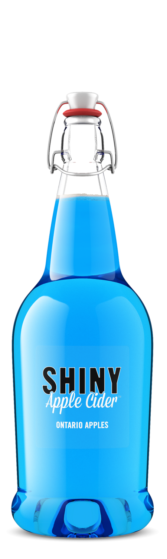 Shiny Blue Razzberry Sour Cider
