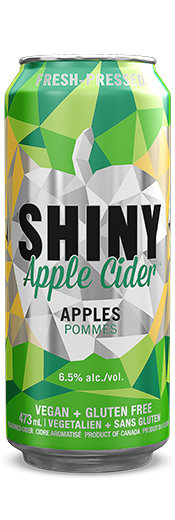 Shiny Apple Cider Cans - Case of 24