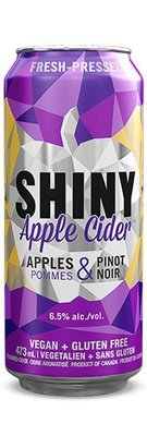 Shiny Pinot Cider Cans - Case of 24