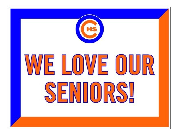 Senior Yard Sign / Gift To Seniors!
