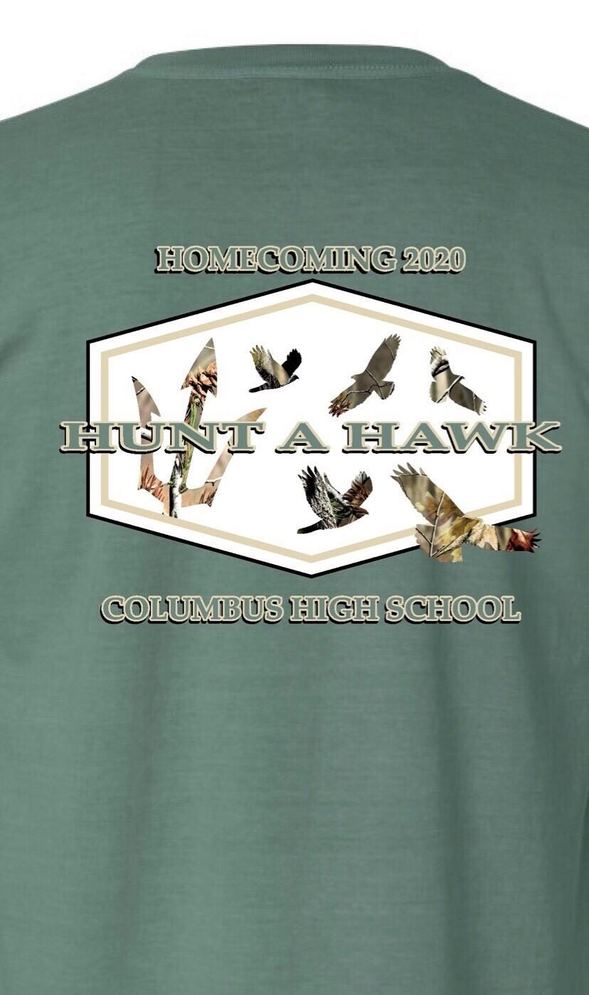 Hunt A Hawk Homecoming Tshirt/ Limited Quantities