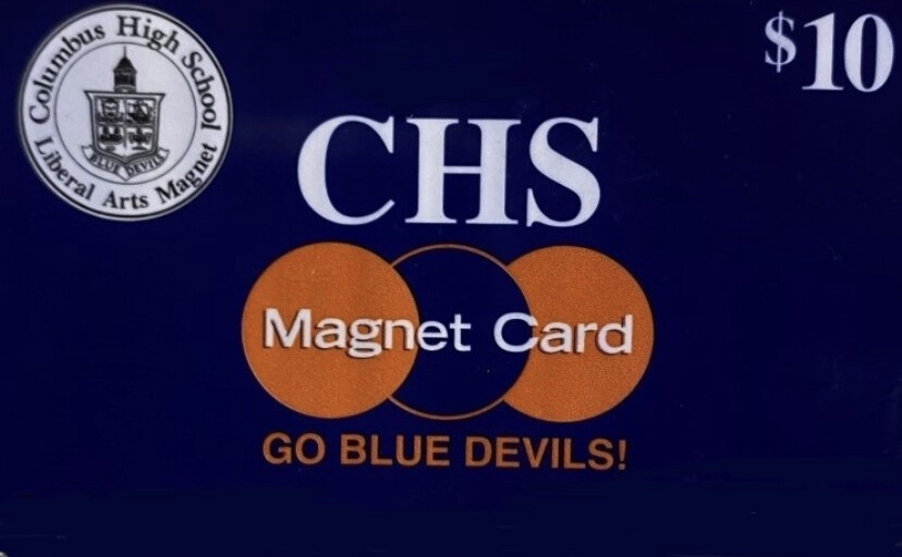 CHS MAGNET CARD MAILED