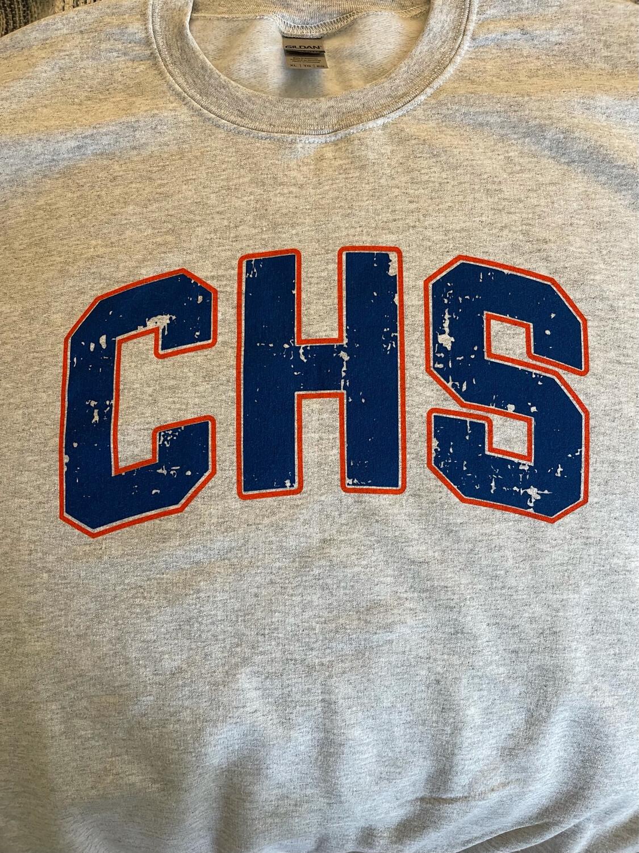 """CHS"" Light Gray Sweatshirt"