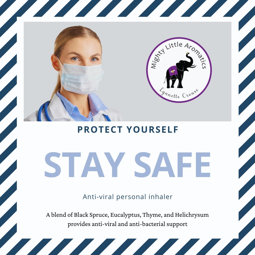 Stay Safe Personal Inhaler