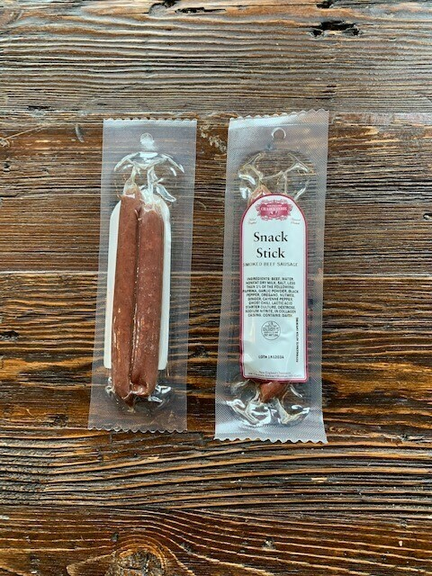 Smoked Beef Snack Sticks