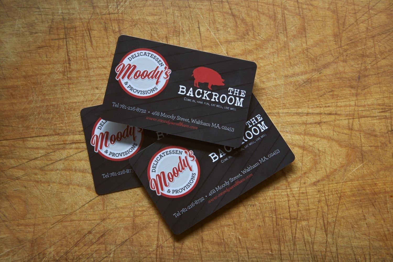 Moody's + Pollo Club Gift Card