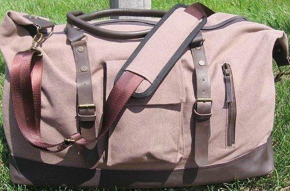 Ultimate Duffle Bag Heavyweight Vintage Canvas - Sandstone