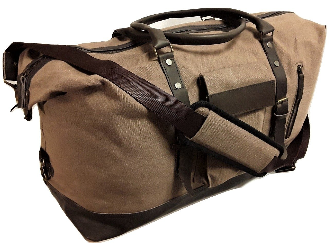 Ultimate Duffle Bag Heavyweight Vintage Canvas - Sandstone
