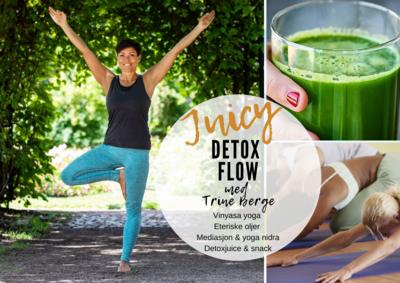 JUICY Yoga-Flow M/Trine TIRSDAG  12. Oktober Kl 1800-2030