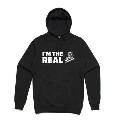 I'M THE REAL - Black Hoodie
