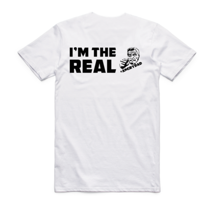 ​I'M THE REAL - White Tee