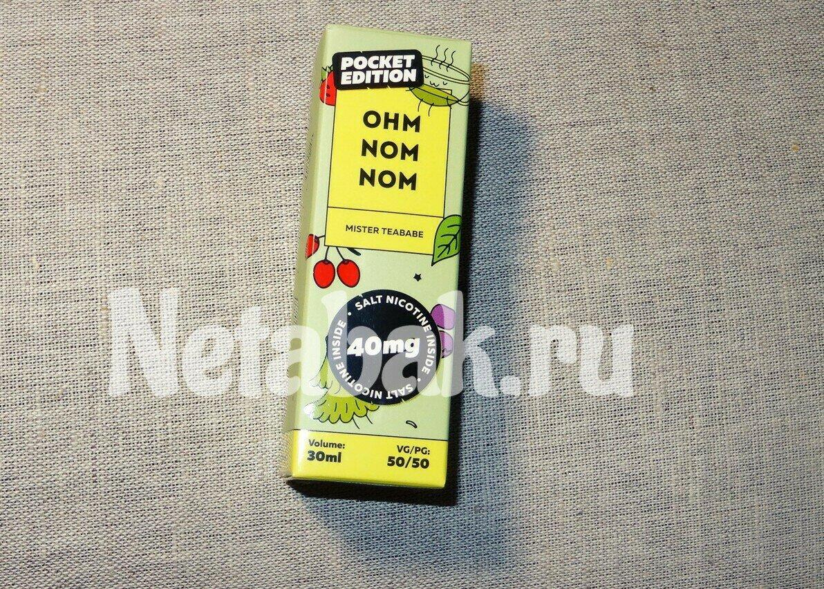 Жидкость OHM NOM NOM Salt 30мл