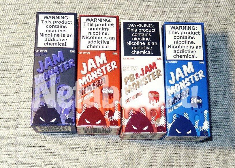 Жидкость USA JAM MONSTER Salt 30мл