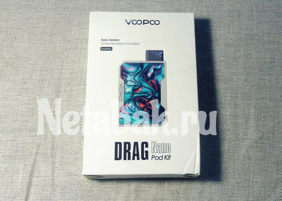 Набор Voopoo DRAG Nano 750mAh Pod Kit