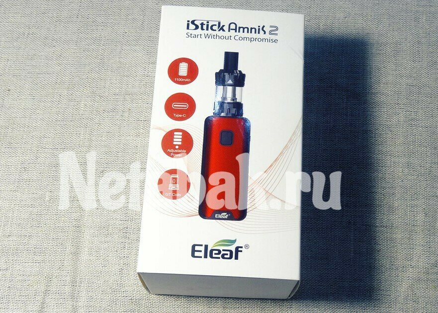 Набор ELEAF iStick AMNIS2 with GTiO Kit
