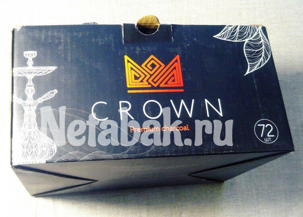 Уголь кокосовый CROWN - 96шт  - 22MM