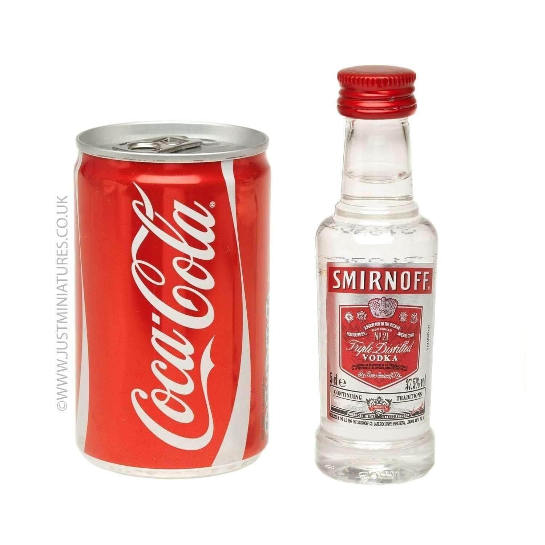 25ml Single Spirit with Mixer