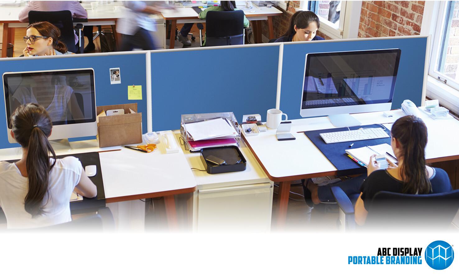 Scheidingswanden voor kantoor 50 x 100 cm