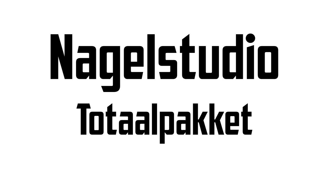 Openings-Kit / Nagelstudio's