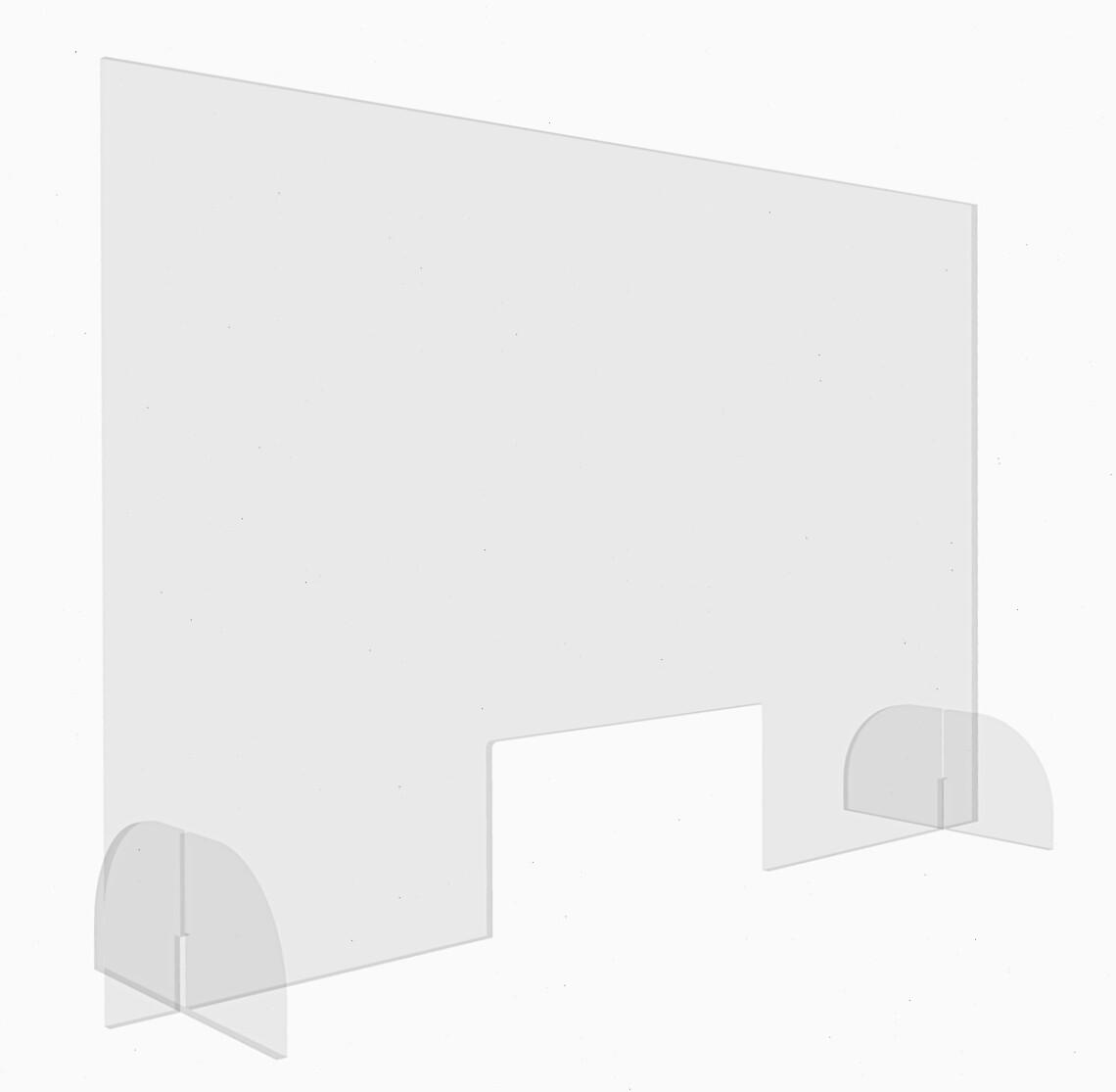 Staand Plexiglas Scherm   100 x 75 cm