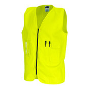 DNC 190GSM DAYTIME COTTON SAFETY VEST
