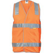 DNC DAY/NIGHT SAFETY VEST. 3M8906 R/TAPE