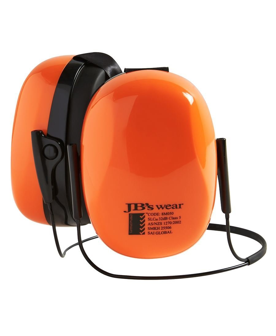 JB'S 32dB SUPREME EAR MUFF WITH NECKBAND