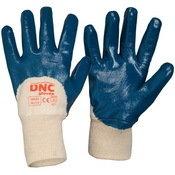 DNC GLOVES  BLUE NITRILE 3/4 DIP