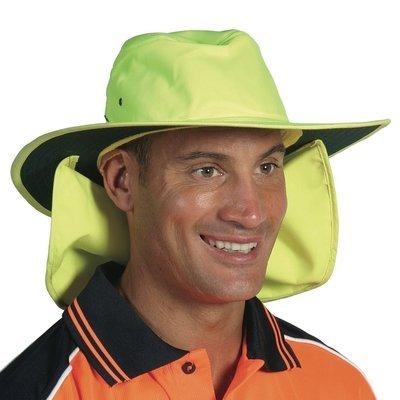DNC HiVis hat with flap