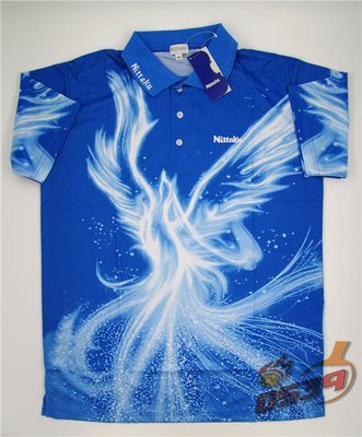 Nittaku Table Tennis Shirt Phoenix / 尼塔库 乒乓球运动短袖 火凤凰系列