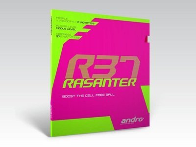 andro® RASANTER R37 / 岸度安度Rasanter锐煞R37内能反胶套胶