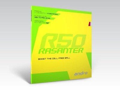andro® RASANTER R50 / 岸度安度Rasanter锐煞R50内能反胶套胶