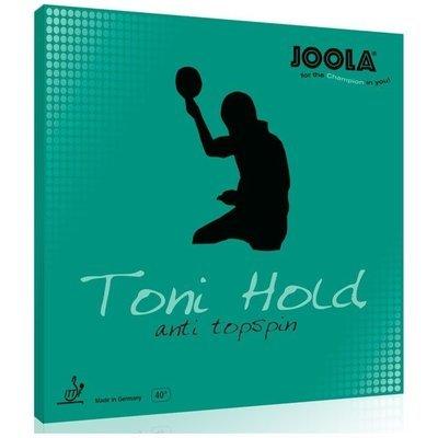 JOOLA TONI HOLD ANTI TOPSPIN / 优拉尤拉TONI HOLD托尼控乒乓球胶皮防弧套胶