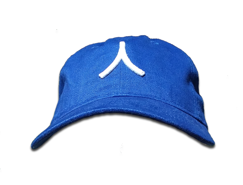 Character By Rakiem Logo Branded Cap - Royal Blue