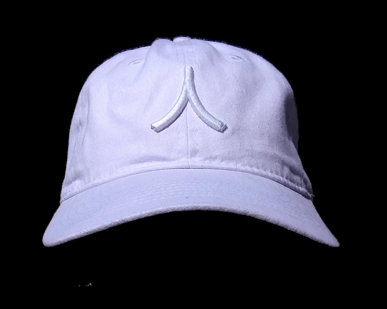 Character By Rakiem Logo Branded Cap - White