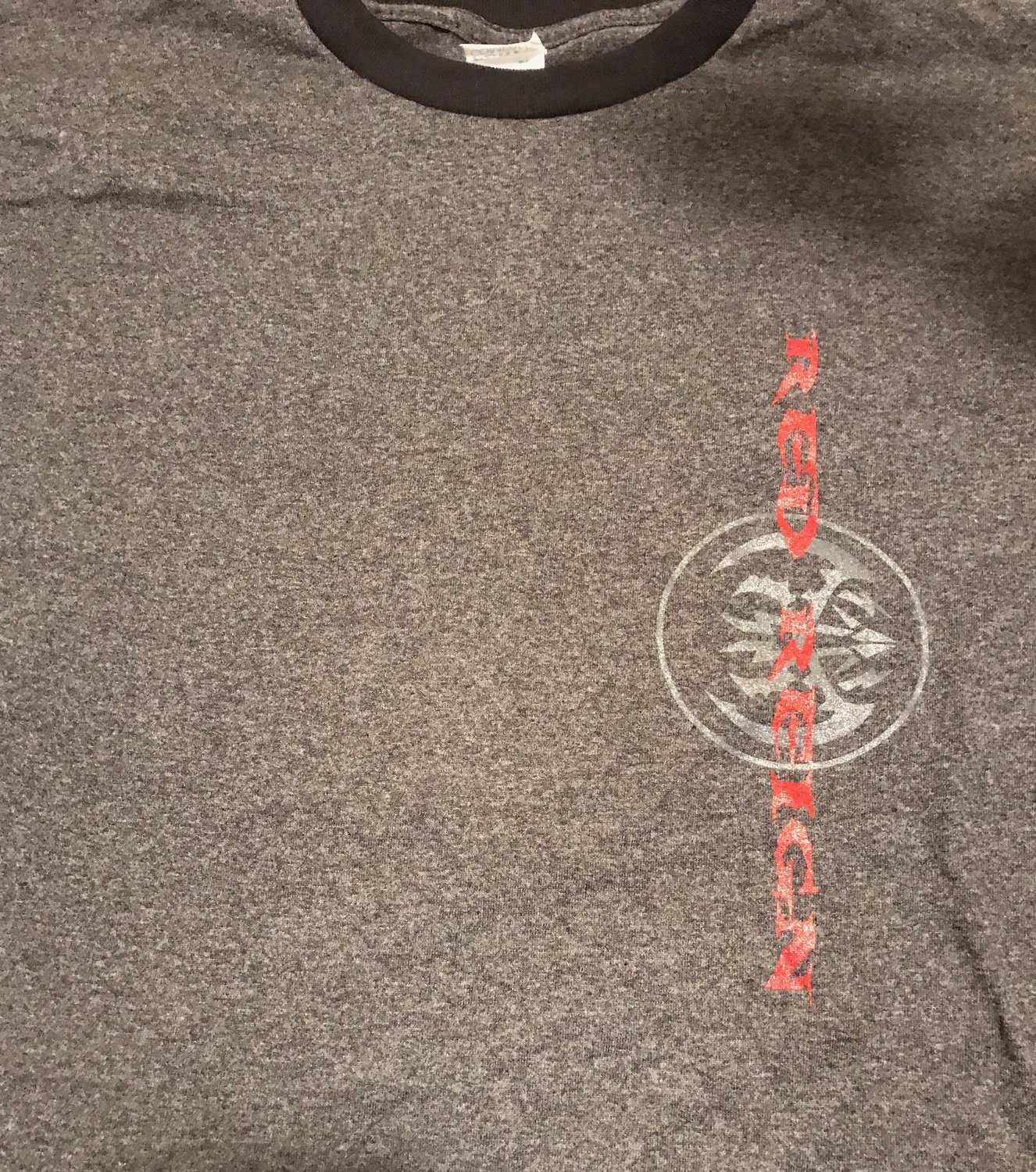 Red Reign T Shirt Style 3 Heather Grey