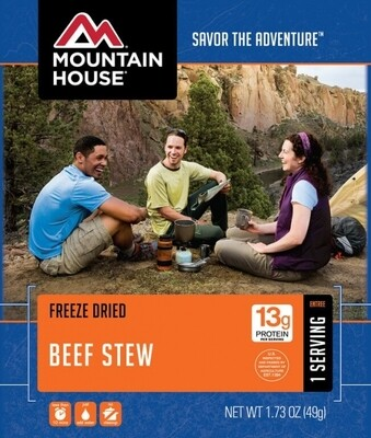 Mountain House Freeze Dried Dinners - Assorted Flavors