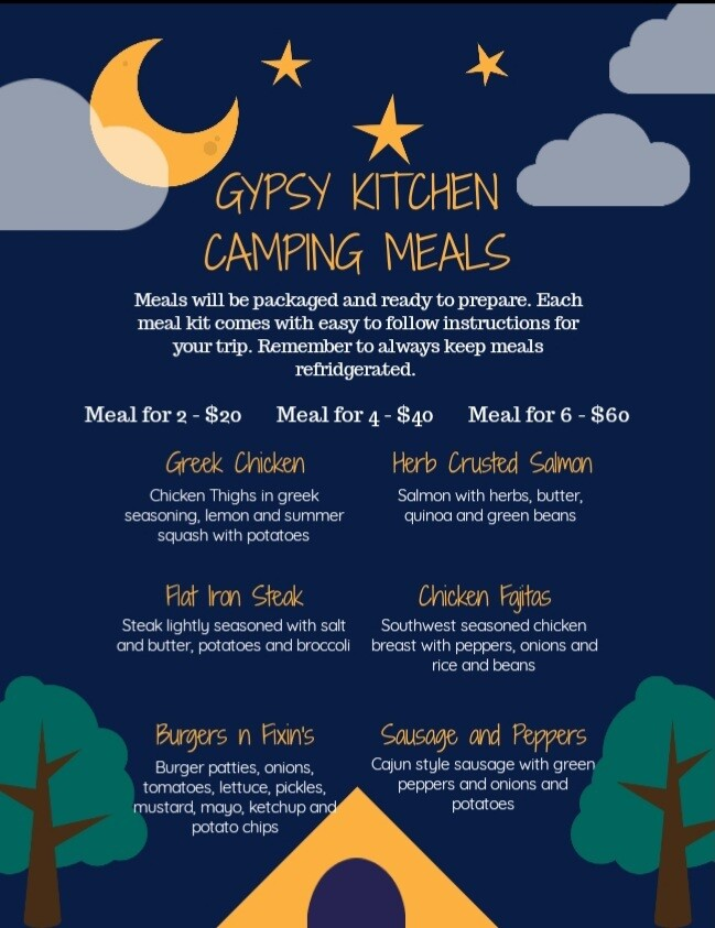 Gypsy Kitchen Camping Meals