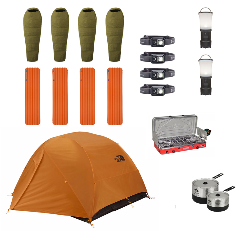 4Person   Exploration Package
