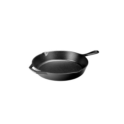 "Cast Iron 12"" Frying Pan Skillet"