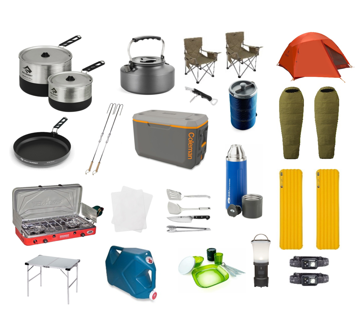 2Person | DetourOn Camping Package
