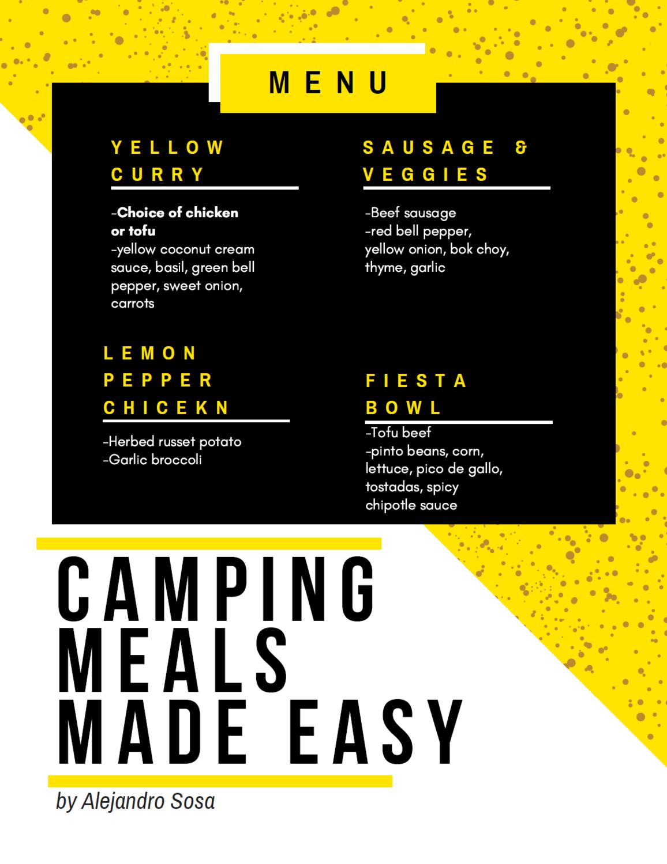 Prepared Camping Meals