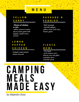 Prepared Camping Meals
