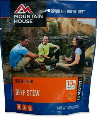 Mountain House Freeze Dried Dinners - Beef Stew