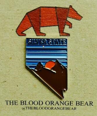 Souvenir Silver State Pins