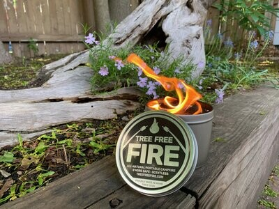 Tree-Free Fire for s'mores