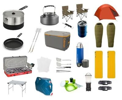 2Person   DetourOn Camping Package