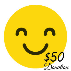 $50 Donation  ( 22 cents a day)