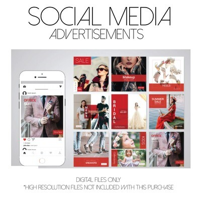 DIGITAL/SOCIAL MEDIA ADVERTISEMENTS