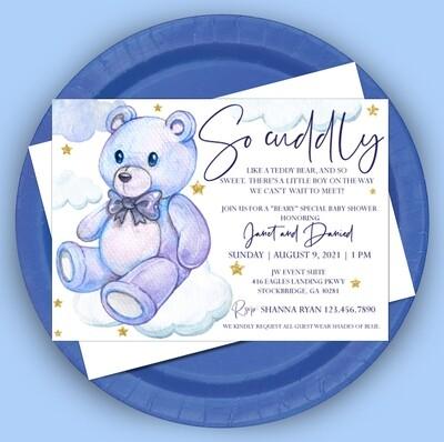 Beary Cute Invitation